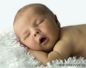 крепкий сон - сон младенца