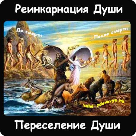 реинкарнация - переселение души