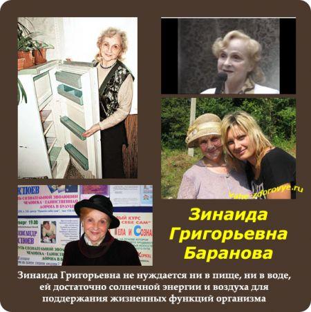 Зинаида Григорьевна  Баранова