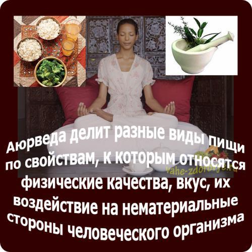 питание по аюрведе