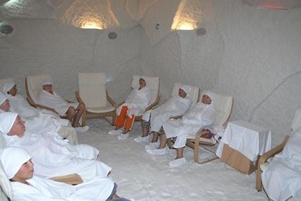 Соляная пещера для похудения