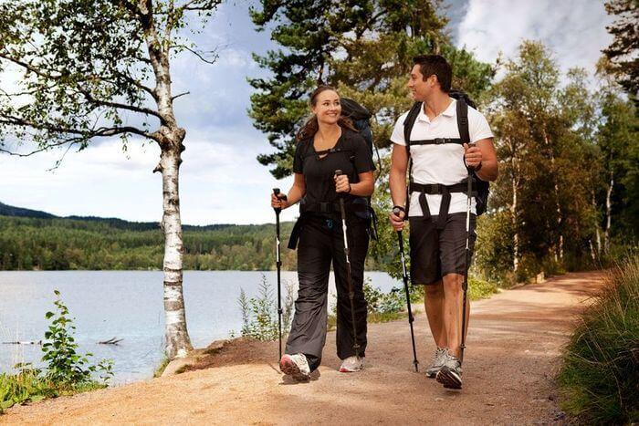 польза скандинавской ходьбы с палками для здоровья