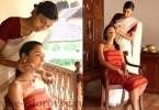 Лечебная сила индийского массажа головы