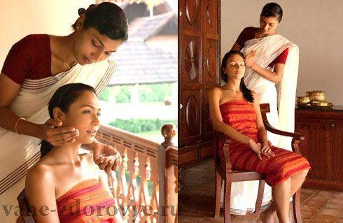 Индийский массаж головы, лечебная сила