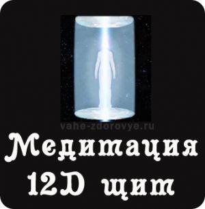 Медитация 12D щит