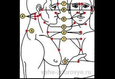 Точечный массаж биологически активных точек