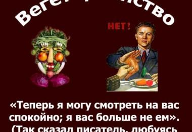 Вегетарианство залог здоровья